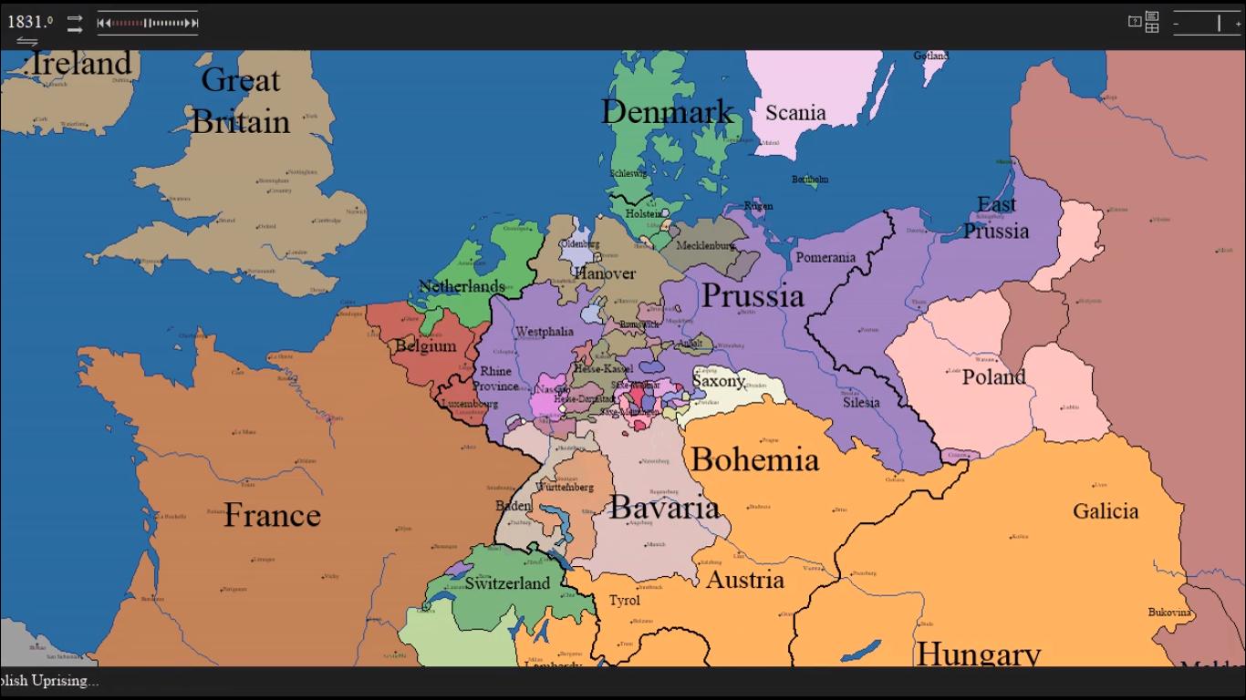HistoricalAtlas com: The CENTENNIA Historical Atlas, Europe
